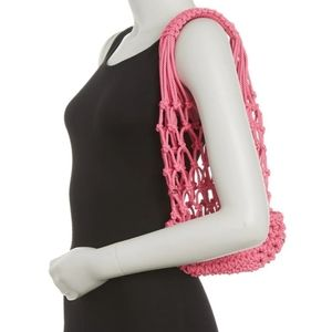 French Connection Braided Tote